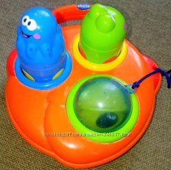 игрушка для ванной Chicco Мерцающая рыбка и ее друзья
