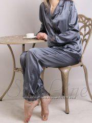 Пижамы из натурального шелка