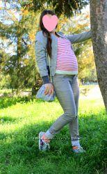 Оригинальные джинсы на беременную