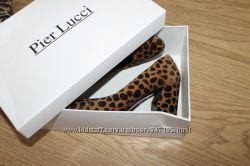 туфли из меха пони Pier Lucci
