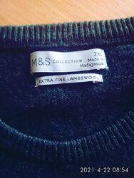 Мужской свитер Marks&Spencer extra fine lambswool