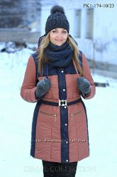 Зимнее пальто Zemal. 50 размер. Мой пролет.