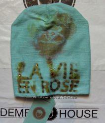 Низкие цены - Шапка шапки для девочек Дембохаус Dembohouse