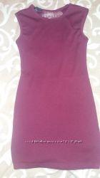 Недорого платье безрукавку бордового цвета в хорошем состоянии