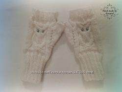 Митенки-варежки, перчатки