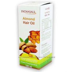 Миндальное масло для волос Patanjali Almond Hair Oil100 мл