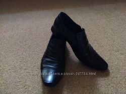 Продам элегантные  кожаные туфли