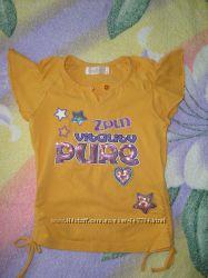 Оранжевая туника - футболка