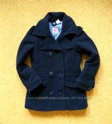Тёплое стильное пальто пальтишко на девочку