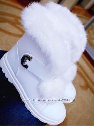 Ботиночки Зима Мех Кролик