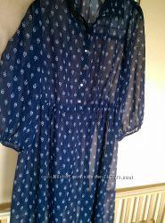 Нарядная модная туника платье George р 14