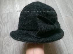 Фирменная шляпка на холода. Шерсть John Lewis