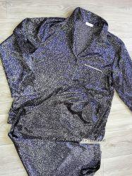 Сатиновая пижамка M&S р 18