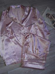 Сатин пижамка M&S р р 16 Сток