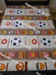 Постельное белье Футбольный мяч бежевый