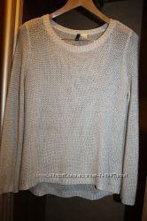 Модный свитер вязаная туника H&M размер М