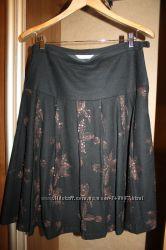 Модная тёплая юбка PROMOD размер UK10