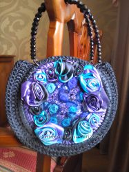 Эксклюзивная сумка из лент