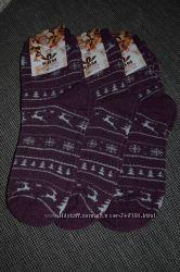 Теплые махровые носки - 23-25 ТМ КВМ, Житомир - опт и розница