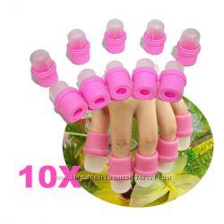 Новинка. Мини-присоски для кончиков пальце для лечения ногтей.