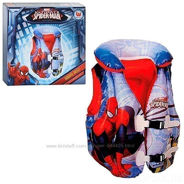 Жилет надувной для плавания Spiderman TM Bestway 98014
