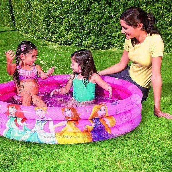 Бассейн детский Disneys Princess TM Bestway 100 л 91047