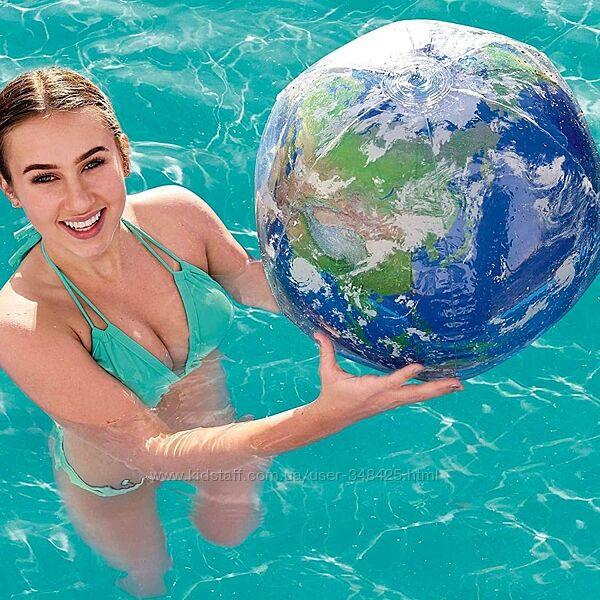 Мяч надувной для бассейна Земля