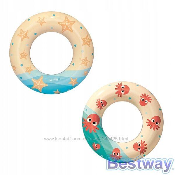 Круг для плаванья Морские приключения 61 см ТМ Bestway 36014