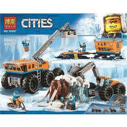 Конструктор Bela City Передвижная арктическая база 10997 , 02111
