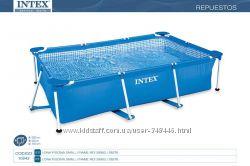 Бассейн каркасный Intex прямоугольный Интекс 28270, 28271, 28272, 28273