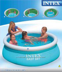 Бассейн Интекс 28101 intex детский надувной