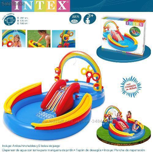Надувной бассейн Радуга Intex 57453 Интекс