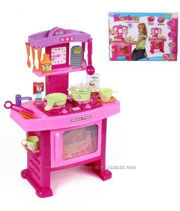 Кухня с посудкой. музыка, свет 661-51 детская