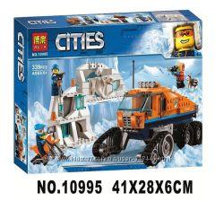 Конструктор Bela 10995 City Арктическая экспедиция Вездеход