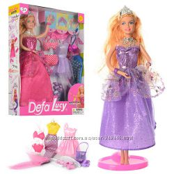 Кукла Defa Lucy 8269 с одеждой лялька дефа типа барби