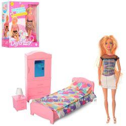 Кукла дефа люси. Defa 8378 типа барби с мебелью