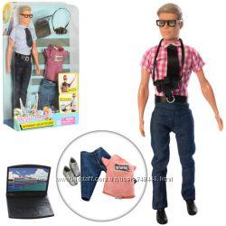 Кукла с нарядом Defa 8385 Кен одежда два вида