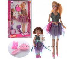 Кукла defa lucy 8304 с дочкой и аксессуарами, два вида дефа люси типа барби