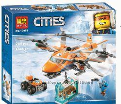 Конструктор Bela City Арктический вертолёт 10994 , 02109 Lepin
