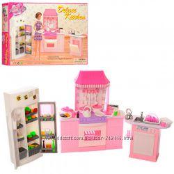 Кукольная мебель 9986 Gloria Кухня для кукол типа барби