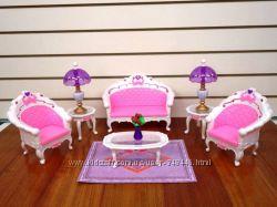 Кукольная мебель Глория Gloria 2604 гостиная