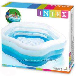 Детский надувной бассейн Intex 56495 Интекс Звезда