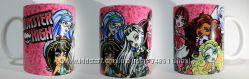 Monster High  Монстер Хай чашка