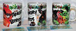 angry birds, чашка с фото, печать на чашках