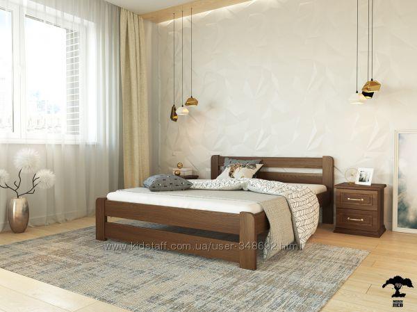 кровать, ліжко Букове, розкішна якість, міцнюще