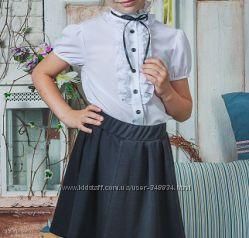 Школьные блузки для девочек под заказ
