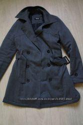 Стильное утепленное пальто