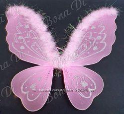 Костюмы феи, крылышки бабочки, ангела, божьей коровки, короны принцессы