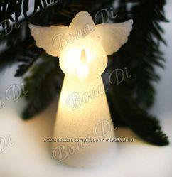 Подсвечники и свечи ко дню влюбленных