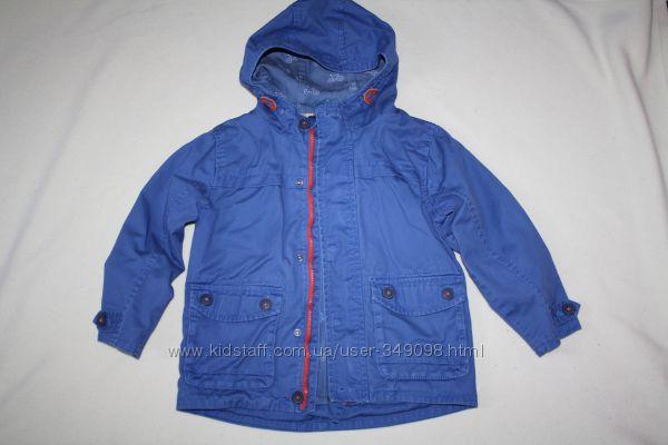 Классная курточка NEXT 4-5 лет